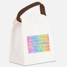Cute Body mind soul Canvas Lunch Bag