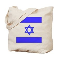 Flag Of Isreal Tote Bag