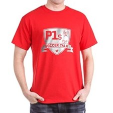 P1s For Soccer Talk Logo T-Shirt