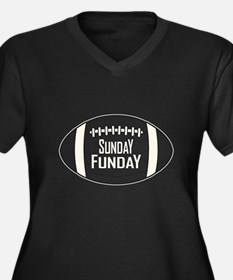 Football Sunday Funday Plus Size T-Shirt