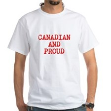Canadian And Proud Shirt
