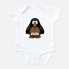 Wilson Tartan Penguin Infant Bodysuit