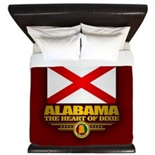 Alabama Pride King Duvet