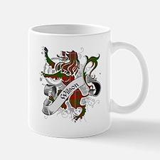 Wilson Tartan Lion Mug