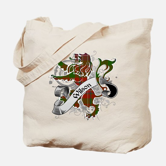 Wilson Tartan Lion Tote Bag