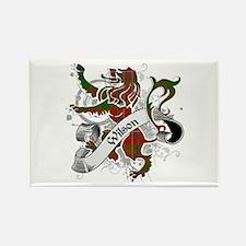 Wilson Tartan Lion Rectangle Magnet