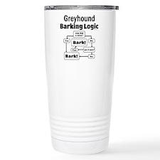 Greyhound logic Travel Mug
