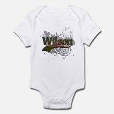 Wilson Tartan Grunge Infant Bodysuit