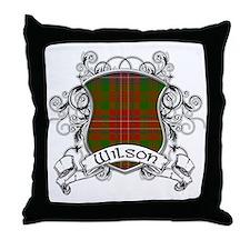 Wilson Tartan Shield Throw Pillow