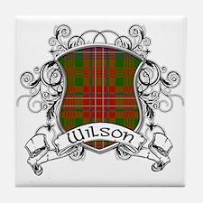 Wilson Tartan Shield Tile Coaster