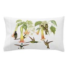 Hummingbirds & Datura Pillow Case