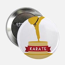 """Karate Trophy 2.25"""" Button"""