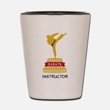 Karate Trophy Shot Glass