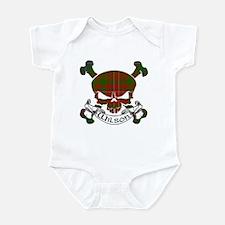 Wilson Tartan Skull Infant Bodysuit