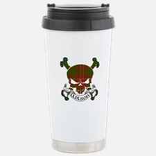 Wilson Tartan Skull Travel Mug