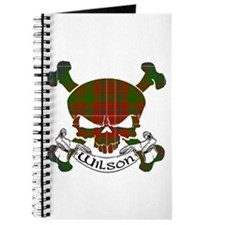 Wilson Tartan Skull Journal