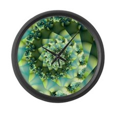 Muted Large Wall Clock