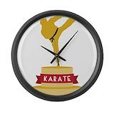 Karate decals Giant Clocks