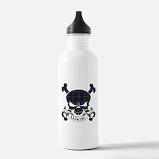 Weir Tartan Skull Sports Water Bottle