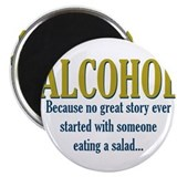 Alcohol magnet Magnets