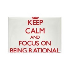 Keep Calm and focus on Being Rational Magnets