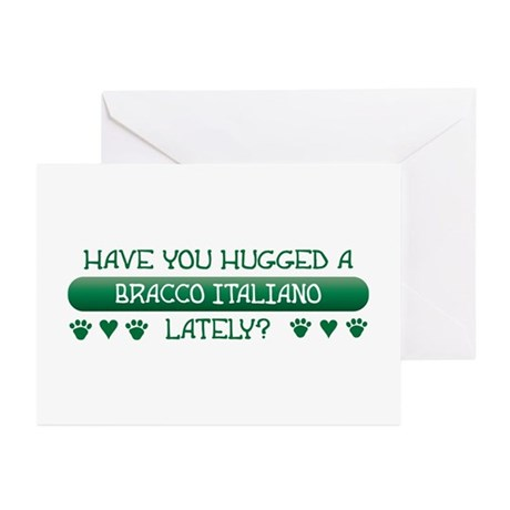 Hugged Bracco Greeting Cards (Pk of 10)
