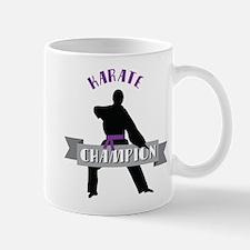 Karate Champion Decal Mugs