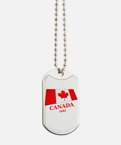 Cute Eh Dog Tags