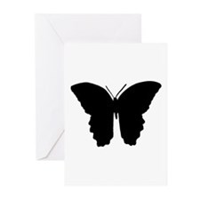 Butterfly Symbol Greeting Cards (Pk of 10)