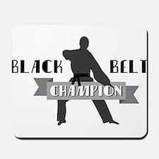Karate Champion Decal Mousepad