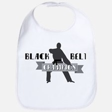 Karate Champion Decal Bib
