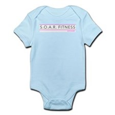 S.O.A.R. Fitness : Coronado Pink & Grey Body Suit