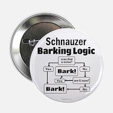 "Schnauzer logic 2.25"" Button"