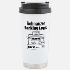Schnauzer logic Travel Mug