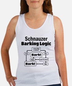 Schnauzer logic Women's Tank Top