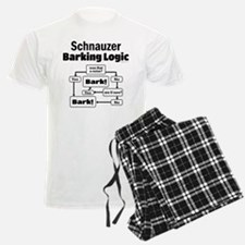 Schnauzer logic Pajamas