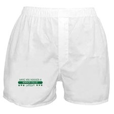 Hugged Collie Boxer Shorts