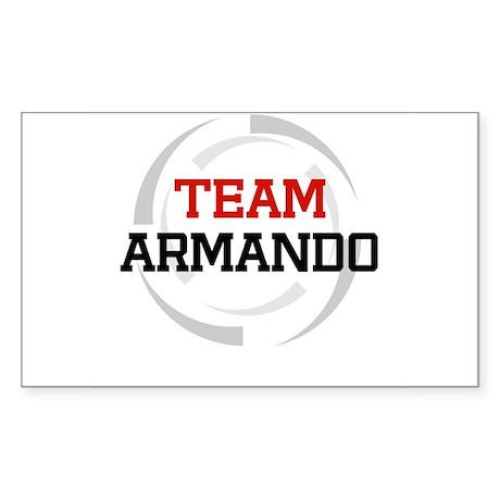 Armando Rectangle Sticker