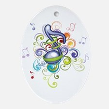 Music in the air Ornament (Oval)