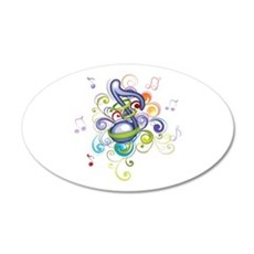 Music in the air Wall Decal