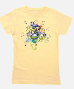 Music in the air Girl's Tee