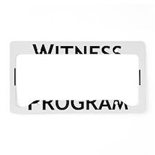 Funny Programming License Plate Holder
