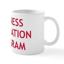 Witness Relocation Program Red Mug