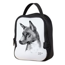 Basenji Neoprene Lunch Bag