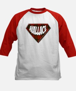 Wallace Superhero Kids Baseball Jersey