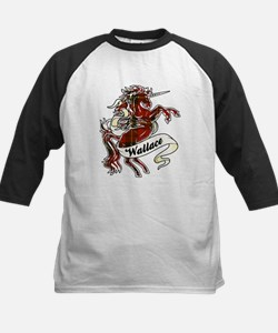 Wallace Unicorn Kids Baseball Jersey