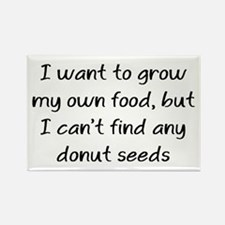 grow donuts Rectangle Magnet