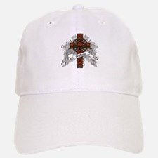 Wallace Tartan Cross Baseball Baseball Cap