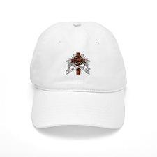 Wallace Tartan Cross Baseball Cap