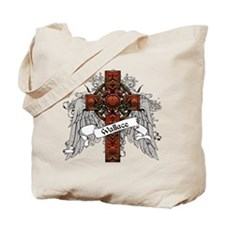 Wallace Tartan Cross Tote Bag